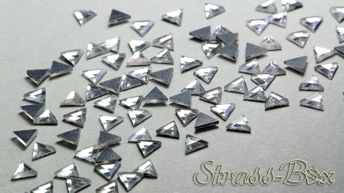 Hotfix DMC Tropfen JET  10x14 mm  Stückzahl wählbar  Glas Strasssteine Schwarz
