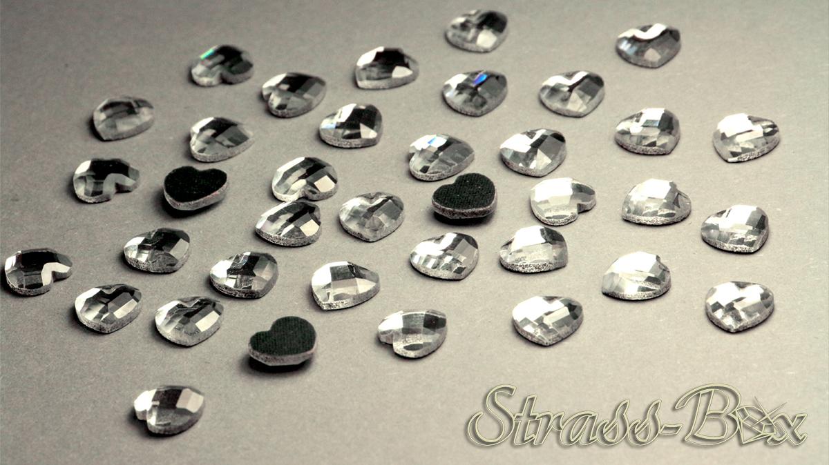 Hotfix DMC Sterne CRYSTAL 6mm  Stückzahl wählbar  Glas Strasssteine geschliffen