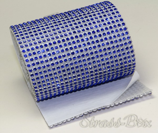selbstklebendes MESH SS8 COBALT BLUE Band / 24 Reihen