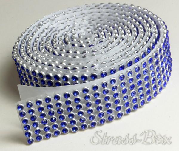 selbstklebendes MESH SS8 COBALT BLUE Band / 6 Reihen